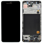 Genuine Samsung Galaxy A515F (A51) (2020) LCD / DISPLAY BLACK / TOUCH SCREEN - Part no: GH82-21669A