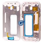 Samsung Galaxy A5 A520 LCD Frame Bezel in Pink