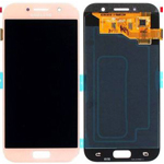 Genuine Samsung Galaxy A5 2017 (SM-A520F) Lcd with Touchpad in Pink - Samsung part no : GH97-19733D