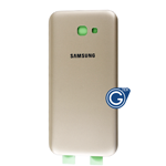 Samsung Galaxy A7 2017 SM-A720F Battery Cover in Gold