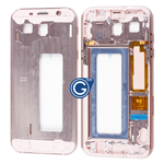 Samsung Galaxy A7 A720 LCD Frame Bezel in Pink
