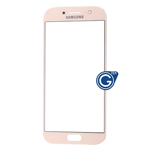 Samsung Galaxy A7 SM-A720 Glass Lens with Adhesive in Pink