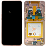 Genuine Samsung Galaxy A80 (SM-A805F) lcd and touchpad in gold - part no: GH82-20390C
