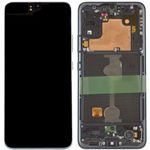 Genuine Samsung Galaxy A90 5G SM-A908 LCD Screen and Digitizer in Black - part no: GH82-21092A
