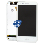 ASUS PadFone 2 (A68) Complete LCD with Digitizer and Frame in White