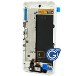 Blackberry Z10 Genuine Centre Board Complete with parts in white