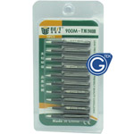 Best 900M-T-1.6D Soldering tip 10PCS set Black