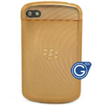 Blackberry Q10 Antenna Cover with Back Cover in Gold