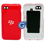 Blackberry Q5 Back Cover with Camera Lens and NFC in Red