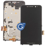 Genuine Blackberry Z30 Complete LCD with Frame and Speaker - 4G Version