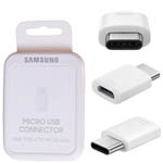 Genuine Samsung Type C to Micro USB Adaptor (Retail Packed) - Part no: EE-GN930BWEGWW
