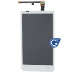 HTC One XC (X720d ) Complete LCD with digitizer in white