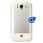 Genuine HTC Sensation XL G21 Beats Audio White Midframe Assembly with Battery Back Cover - Grade A