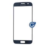Samsung Galaxy S7 SM-G930 Glass Lens with Adhesive in Black