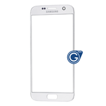 Samsung Galaxy S7 SM-G930 Glass Lens with Adhesive in Silver