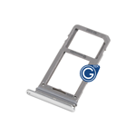 Samsung Galaxy S8 SM-G950F, S8 Plus SM-G955F Sim Holder in Silver