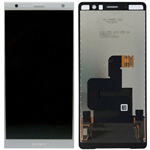 Genuine Sony Xperia XZ2 Premium Dual LCD and Touch Screen in Silver - Part no 1310-6654