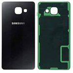 Genuine Samsung SM-A510F Galaxy A5 Battery Cover in Black-Samsung part no: GH82-11020B