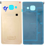 Genuine Samsung Galaxy A3 2016 A310 Gold Glass Battery Cover - Part no: GH82-11093A