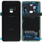 Genuine Samsung SM-G960F Galaxy S9 Back Cover in Black With Duos Logo - Samsung part no: GH82-15875A