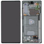 Genuine Samsung Galaxy Note 20 (N980F) / (SM-N981) 5G Complete lcd in Mystic Green - Part no: GH82-23733C