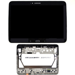 Genuine Samsung GT-P5200, P5210 Galaxy Tab 3 10.1 3G - Display LCD Touchscreen And Frame In Black - Part No: GH97-14819D