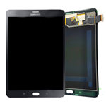 Genuine Samsung SM-T715 Galaxy Tab S2 8.0 3G/LTE Complete Lcd with Digitizer in Black- Samsung part no: GH97-17679A