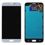 Genuine Samsung Galaxy A8 (A800F, A800Y, A8 Duos) Lcd and touchpad in White -Part no: GH97-17696A