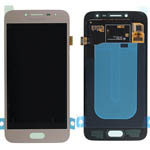 Genuine Samsung Galaxy J2 Pro 2018 (J250F) lcd and touch in Gold - Part no: GH97-21339D