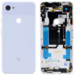 Genuine Google Pixel 3a ROW Clearly White Battery Cover - Part no: 20GS4WW0003
