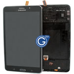 Genuine Samsung Galaxy Tab 4 7.0 SM-T231,SM-T235 Complete LCD with Frame and Home Button in Black