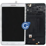 Genuine Samsung Galaxy Tab 4 7.0 SM-T230 Complete LCD with Frame and Home Button in White