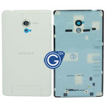 Genuine Sony L35h Xperia ZL Battery Cover in white