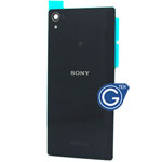 Genuine Sony Xperia Z2 Sirius, SO-03, D6503, D6502 Battery cover in Black
