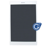 Genuine Sony Xperia Z3 Tablet Compact ,Xperia Tablet Z3 (SGP621) Complete LCD with Digitizer in White