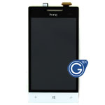 HTC Windows Phone 8S Complete Lcd and Digitizer touchpad in Black and white