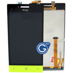HTC 8S Complete LCD with Navigation Light Flex in Black and Green