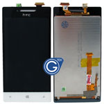 HTC 8S Complete LCD with Navigation Light Flex in Black and White