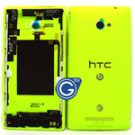 HTC 8X Rear Housing in Green with Volume Flex