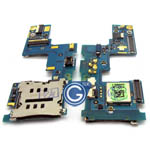 HTC 8X Sim Card Reader Contact PCB Board