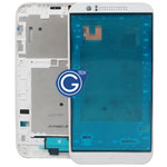 HTC Desire 510 LCD Frame in white