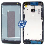 HTC Desire 601 lcd frame in black