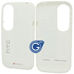 HTC Desire X T328e back cover with antenna and side button in white