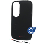 HTC Desire X T328e back cover with antenna and side button in black