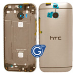 HTC One (M8) Rear Housing with Side Button in Gold