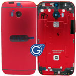 HTC One (M8) Rear Housing in Red