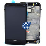 HTC One (M7) Complete Lcd Screen and Touchpad with frame - Black