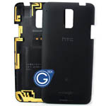 HTC One J Back Cover Black