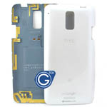 HTC One J Back Cover White