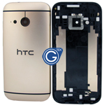 HTC One Mini 2 (M8 Mini) Rear Housing with Side Button in Gold
